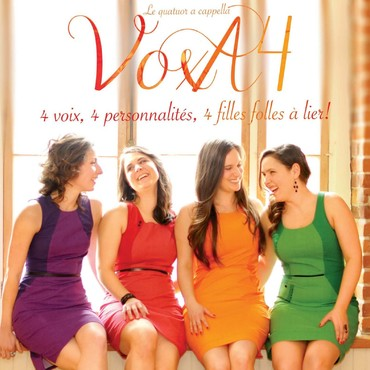 Quatuor vocal VoxA4 - Ensemble vocal