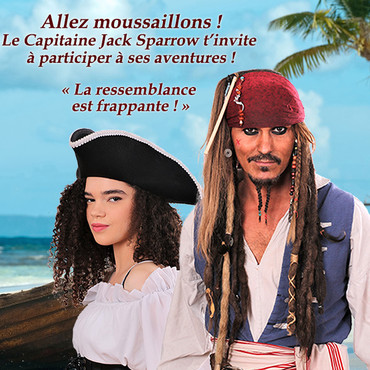 Capitaine Jack Sparrow Spectacle jeunesse - Spectacle pour Enfants