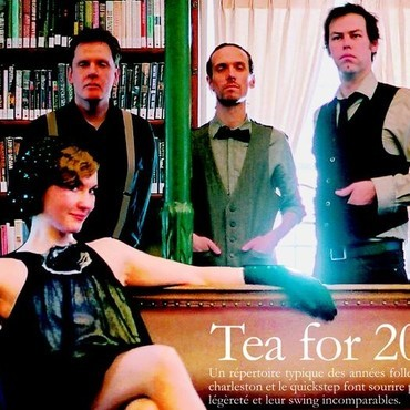 Tea for 20's - Musicien Ambiance