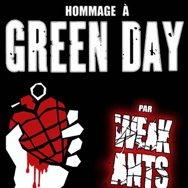 Weak Ants Hommage à Green Day - Groupe alternatif