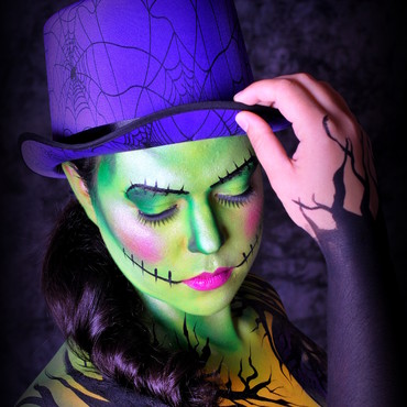 Maquillage de fantaisie et body painting - Maquillage