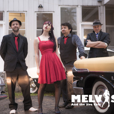 Melvis and the Jive Cats - Groupe rétro