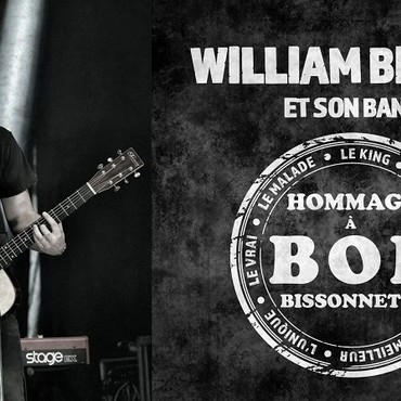 William Bisson et son band hommage à Bob Bissonnette - Groupe Hommage
