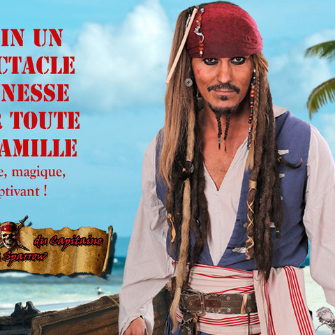 Capitaine Jack Sparrow Spectacle jeunesse
